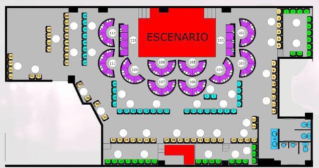 Cuarto Piso Floor Plan