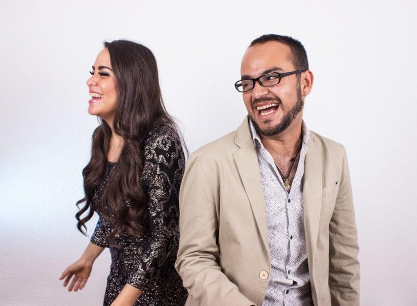 Dulce López y Miguel Ángel